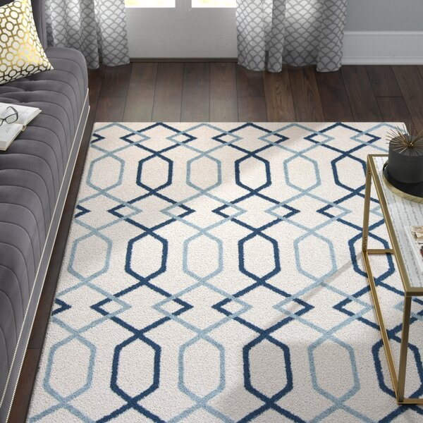 Siclen Blue Area Rug by Willa Arlo Interiors