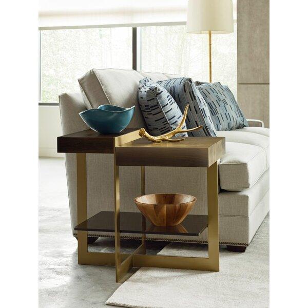 Aalborg Bronze End Table by Brayden Studio