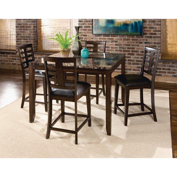 Bella 5 Piece Pub Table Set by Standard Furniture