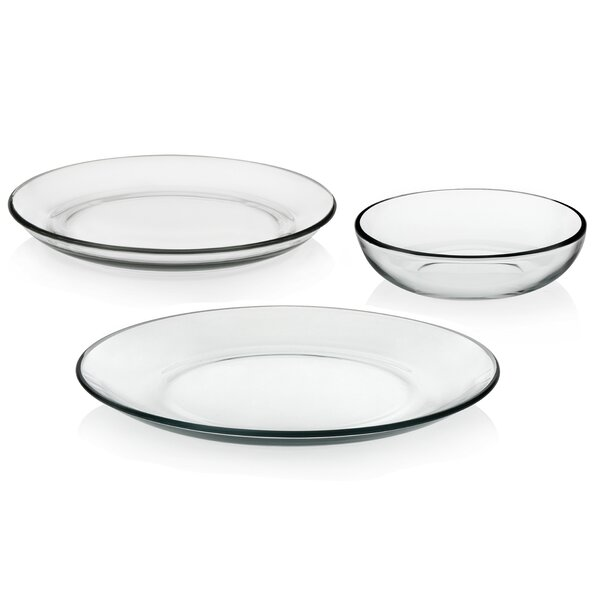 Coupe 12 Piece Dinnerware Set Service for 4 by Libbey