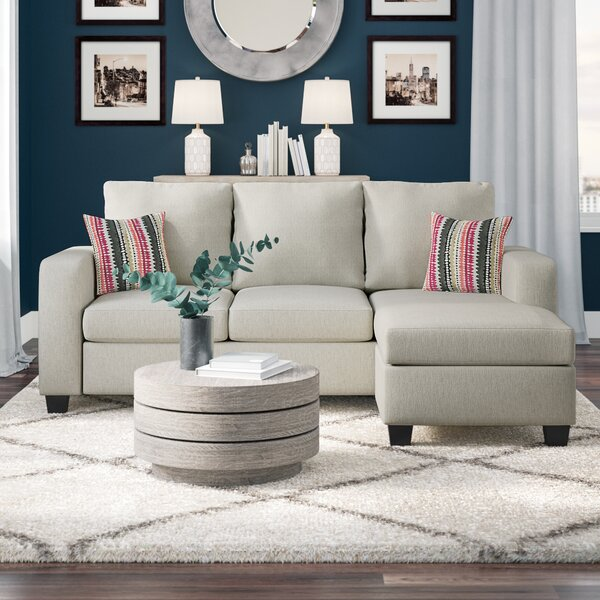 Morpheus Reversible Sectional with Ottoman by Mercury Row