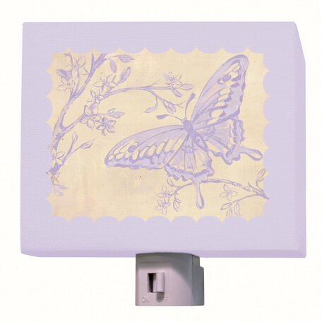 Toile Butterfly Night Light by Oopsy Daisy