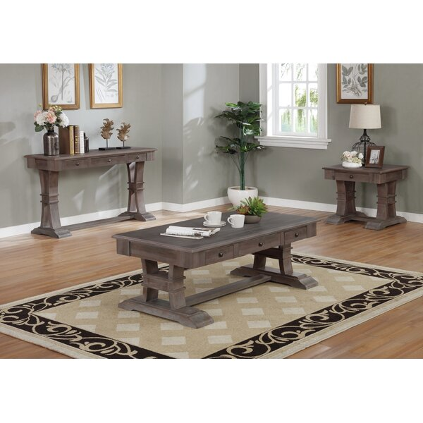 Cisbrough 3 Piece Coffee Table Set by Foundry Select Foundry Select