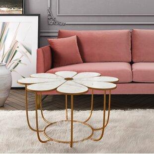 Great choice Gorlest Flower Coffee Table ByHouse of Hampton