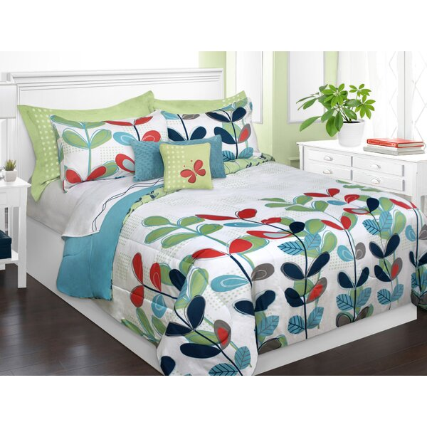 Rosemarie 2 Piece Twin Comforter Set by Ebern Designs