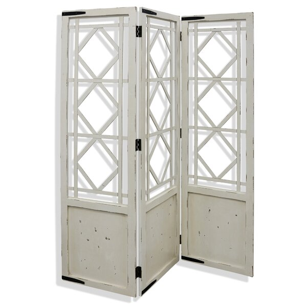 Mariano 3 Panel 6ft Room Divider By One Allium Way®