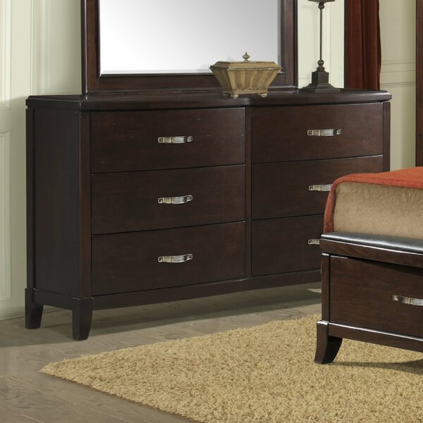 Mcduffie 6 Drawer Double Dresser by Darby Home Co