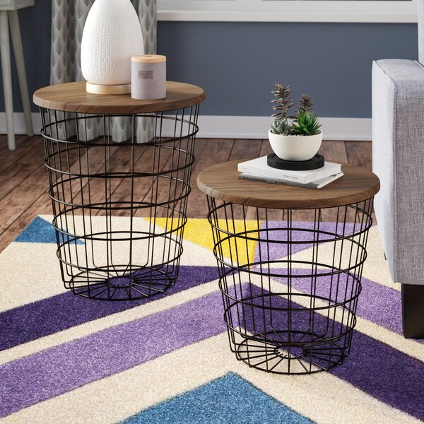 Mcgowen 2 Piece Nesting Tables by Wrought Studio