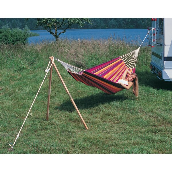 Michaud Madera Wood Standard Hammock Stand by The Holiday Aisle The Holiday Aisle