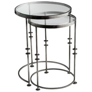 Abacus 2 Piece Nesting Table Set by Cyan Design
