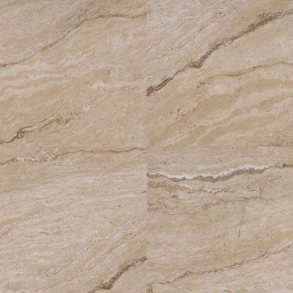 Vezio 20 x 20 Porcelain Field Tile in Beige by MSI