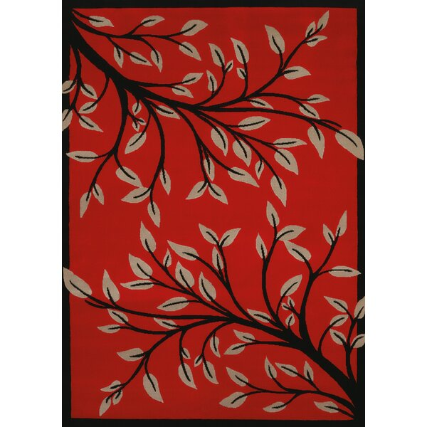 China Garden Belladonna Red Area Rug by United Weavers of America