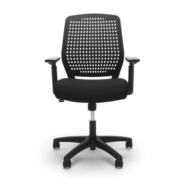 Plastic Back Task Ergonomic Office Chair by Symple Stuff