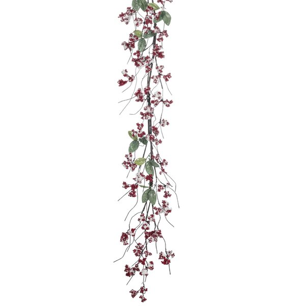Iced Berry and Leaf Garland by The Holiday Aisle