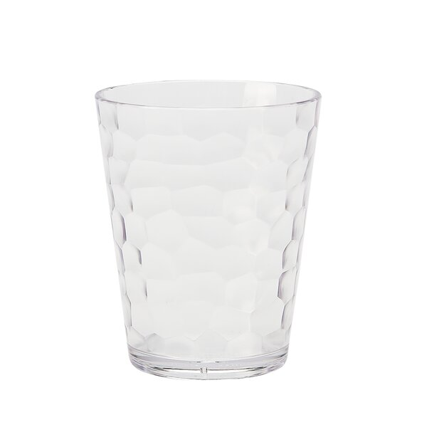 Switzer Rocks 16 oz. Plastic Cocktail Glass (Set of 6) by Highland Dunes