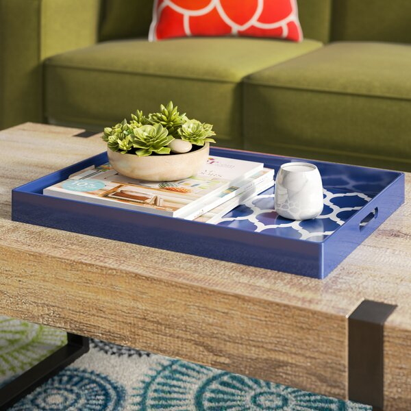 Moroccan Trelli Rectangular Serving Tray by Zipcode Design