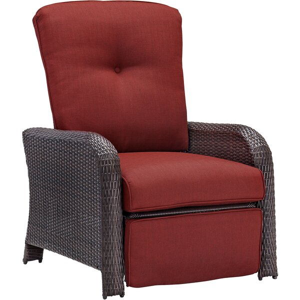 Barrand Luxury Recliner Chair with Cushions by Darby Home Co
