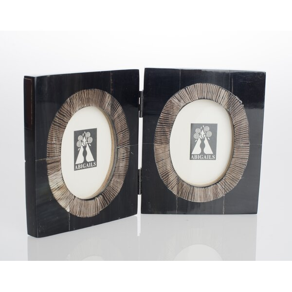 Serengeti Double Horn Picture Frame by Abigails