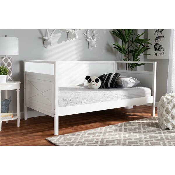 Mccann Twin Solid Wood Daybed by Longshore Tides Longshore Tides