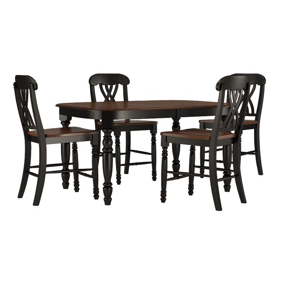 Ashleigh 5 Piece Dining Set by Alcott Hill