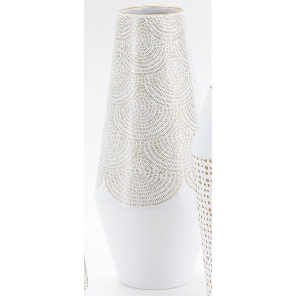 Ballinger Cylinder Large Vase by DwellStudio