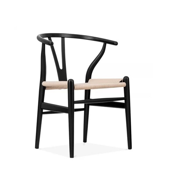 Burmeister Solid Wood Dining Chair by Bungalow Rose