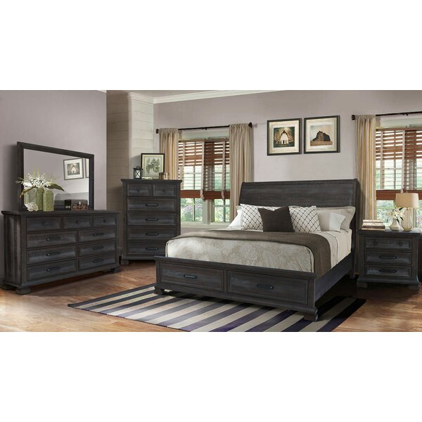 Upney Panel 5 Piece Bedroom Set by Gracie Oaks