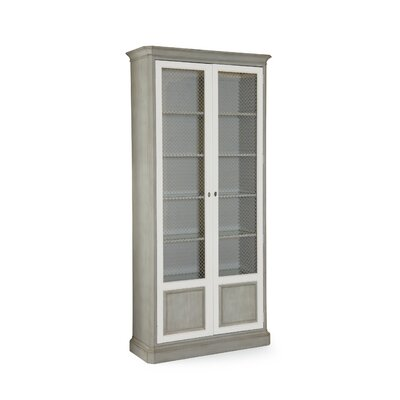 Caracole Classic Inspired Lighted Display Stand China Cabinet