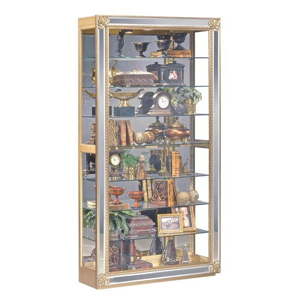 Creekside Lighted Curio Cabinet by Charlton Home Charlton Home