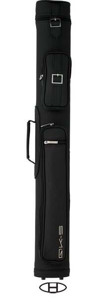 Ray Cue Case in Black / Silver White by QK Cue Cases