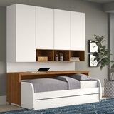 Gautreau Compact Twin Murphy Bed byBrayden Studio