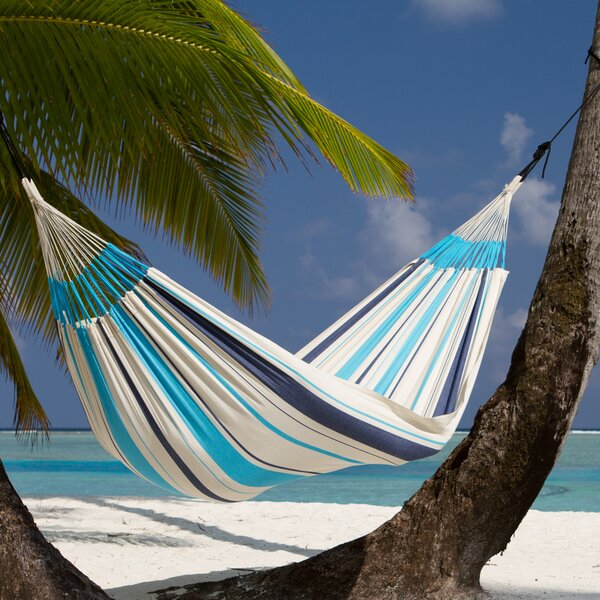 CARIBEÑA Single Cotton Tree Hammock by LA SIESTA
