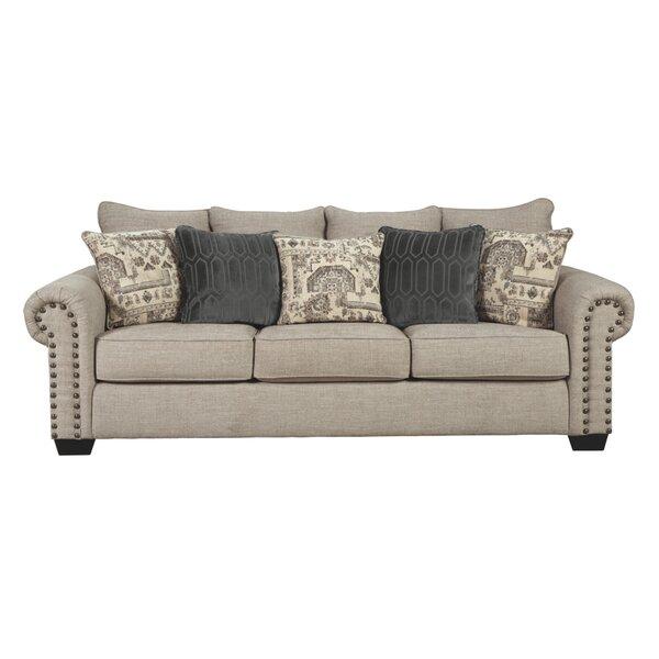 Home Décor Brenham 92'' Rolled Arm Sofa