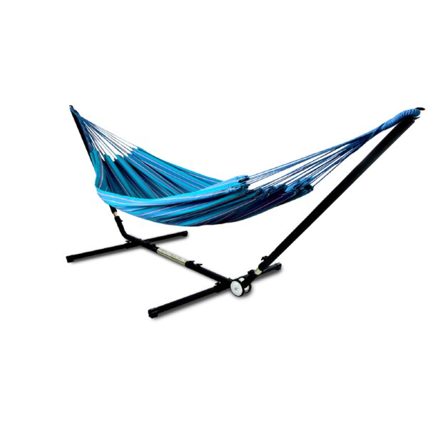 Edmont Brazilian Double Tree Hammock with Stand by Freeport Park Freeport Park