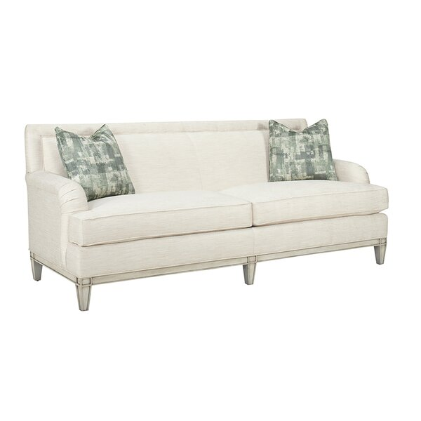 Kensington Place 88-inch Recessed Arm Sofa by Lexington Lexington