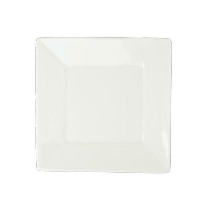 5.25in Square Rim Plate