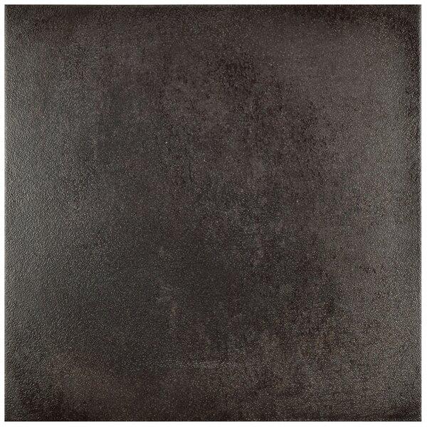 Symbals 14.13 x 14.13 Porcelain Field Tile in Black by EliteTile