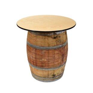 Soto Wood Wine Barrel Coffee Table