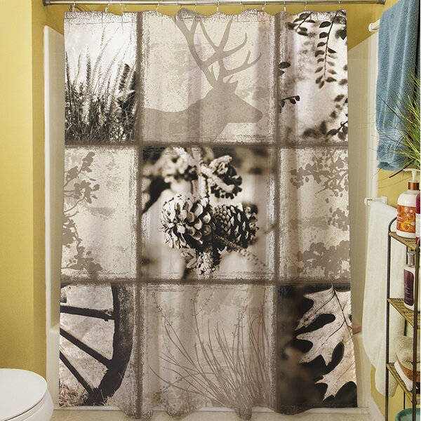 Mountain Retreat I Shower Curtain by Manual Woodworkers & Weavers