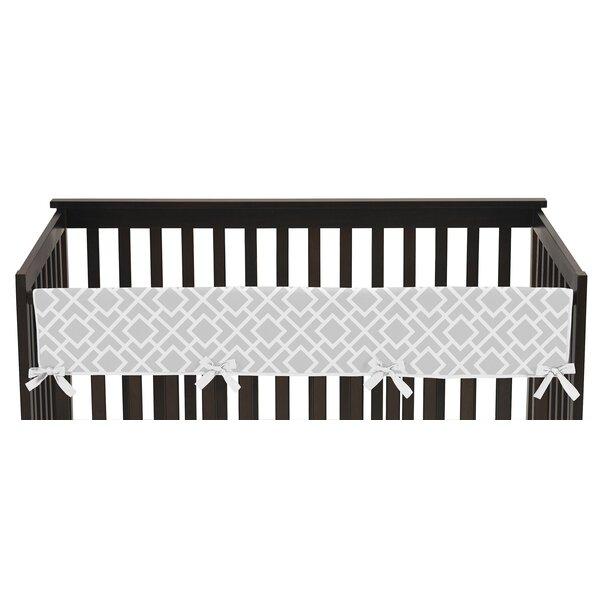 Diamond Long Crib Rail Guard Cover by Sweet Jojo Designs