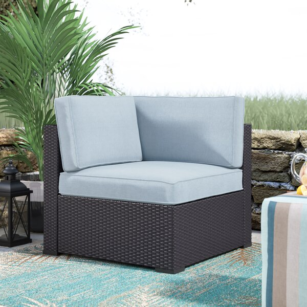 Seaton Corner Chair with Cushions by Sol 72 Outdoor
