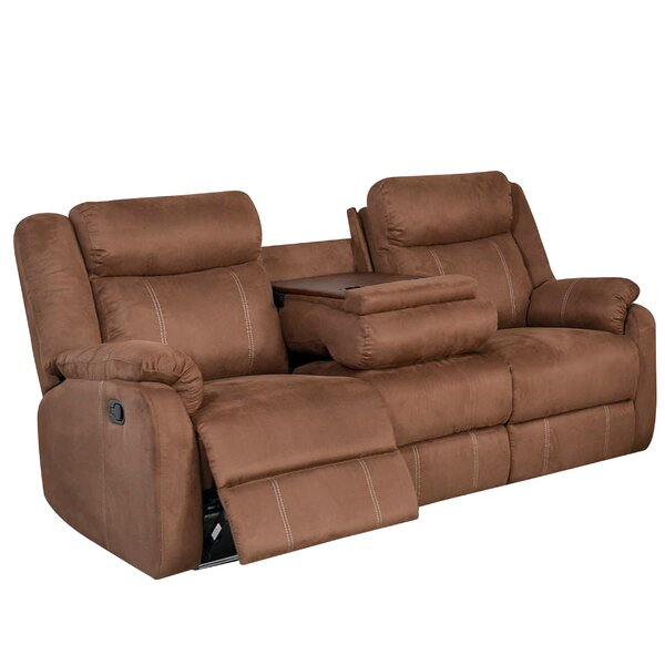 Brooten Motion Reclining Sofa by Winston Porter