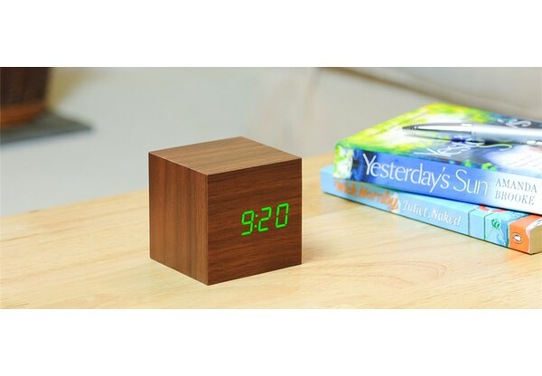 Cube Click Desktop Clock by Orren Ellis
