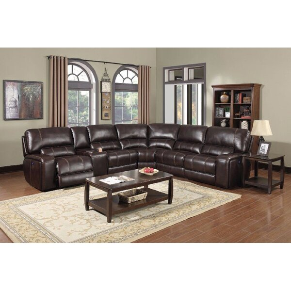 Rowsey Symmetrical Reclining Sectional By Red Barrel Studio