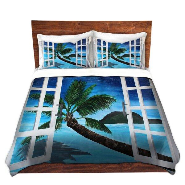 Kaiya Window To Paradise Duvet Cover Set