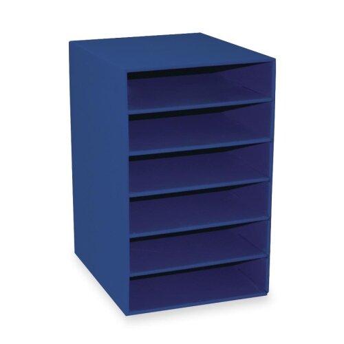 6-Shelf Organizer By Pacon Corporation.