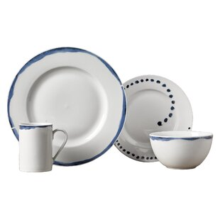 Stoneham 16 Piece Dinnerware Set Service for 4  sc 1 st  Joss u0026 Main & White Dinnerware Sets u0026 Place Settings | Joss u0026 Main