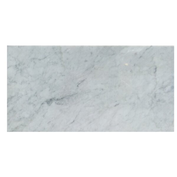 12 x 24 Natural Stone Field Tile in Carrara by Mulia Tile
