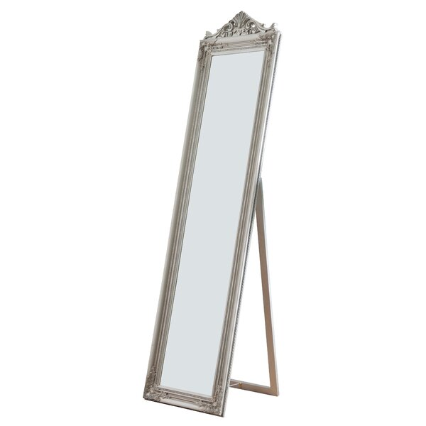 Crown Rectangle Standing Wall Mirror by Willa Arlo Interiors