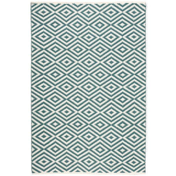 Sami Hand-Woven Teal Area Rug by Willa Arlo Interiors